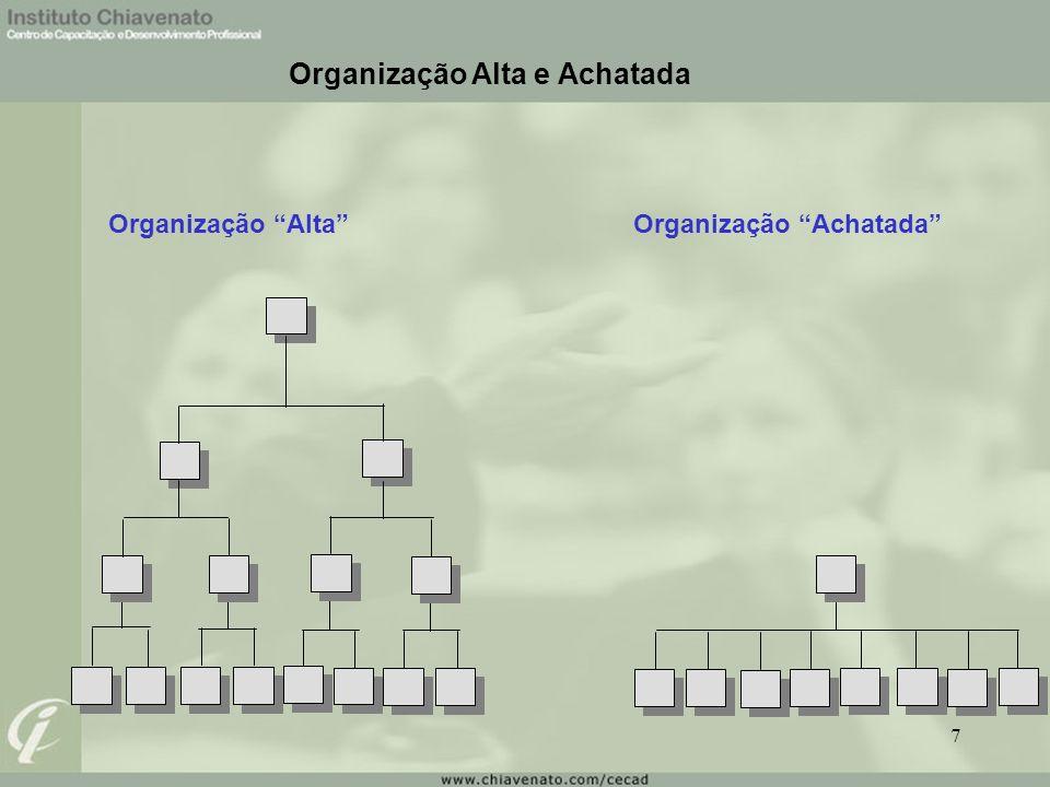 Organização Alta e Achatada