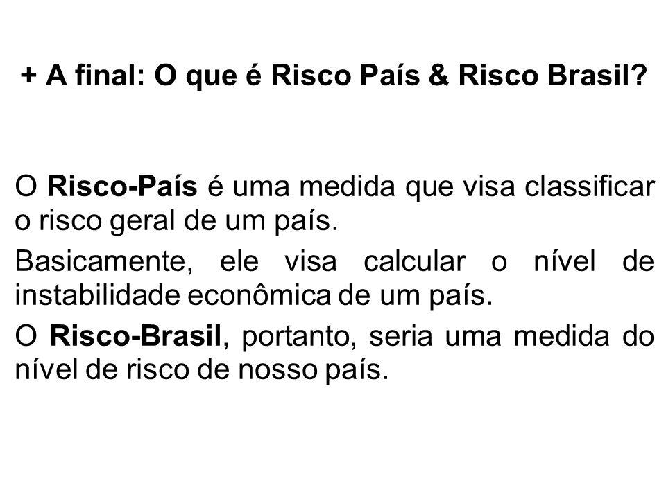 + A final: O que é Risco País & Risco Brasil