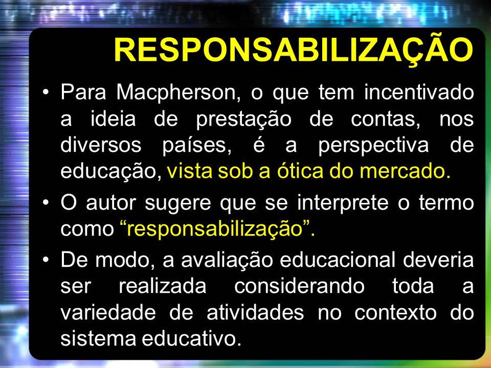 RESPONSABILIZAÇÃO