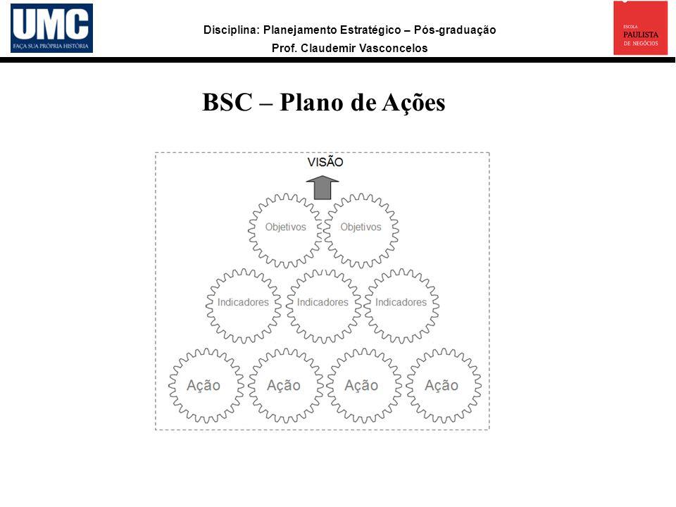 BSC – Plano de Ações 17
