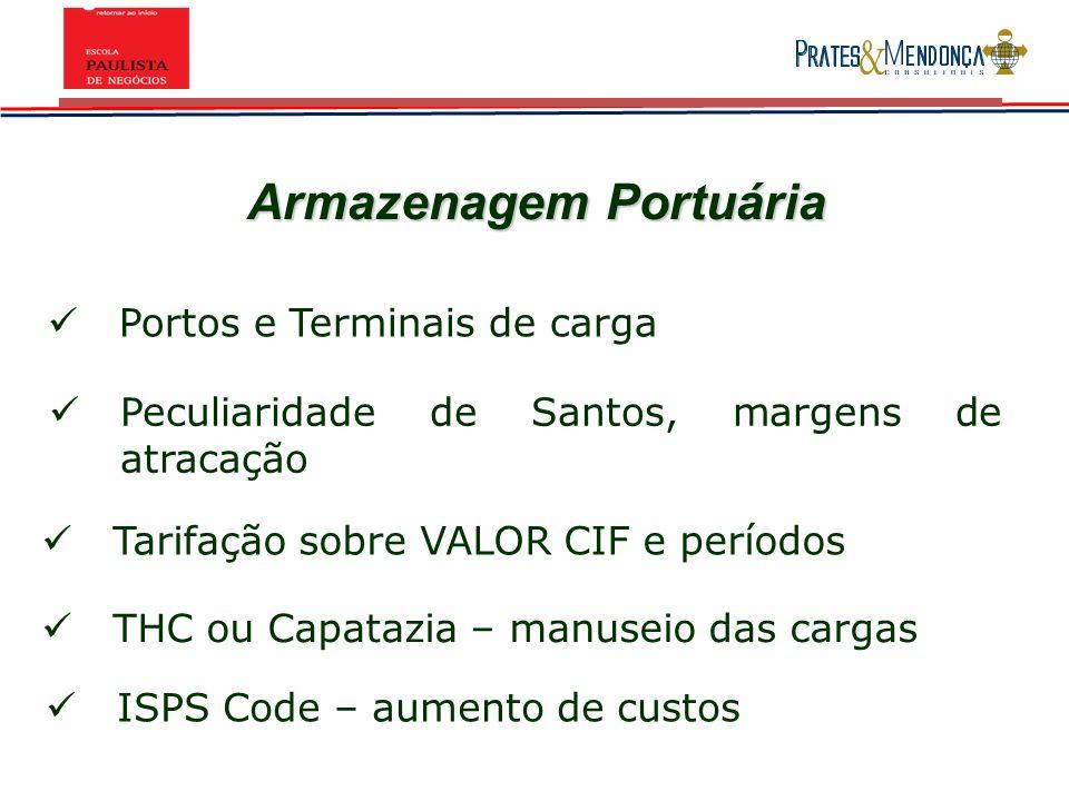 Armazenagem Portuária