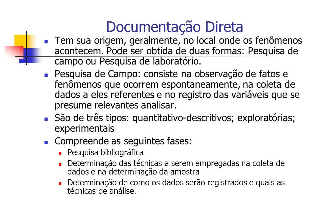 Documentação Direta