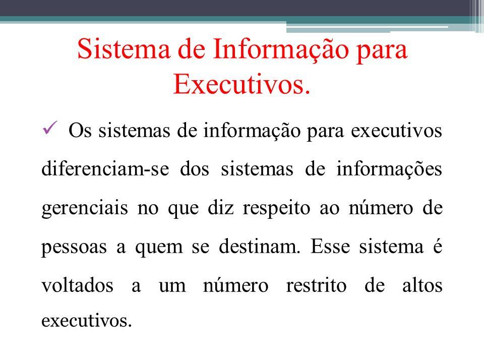 Sistema de Informação para Executivos.