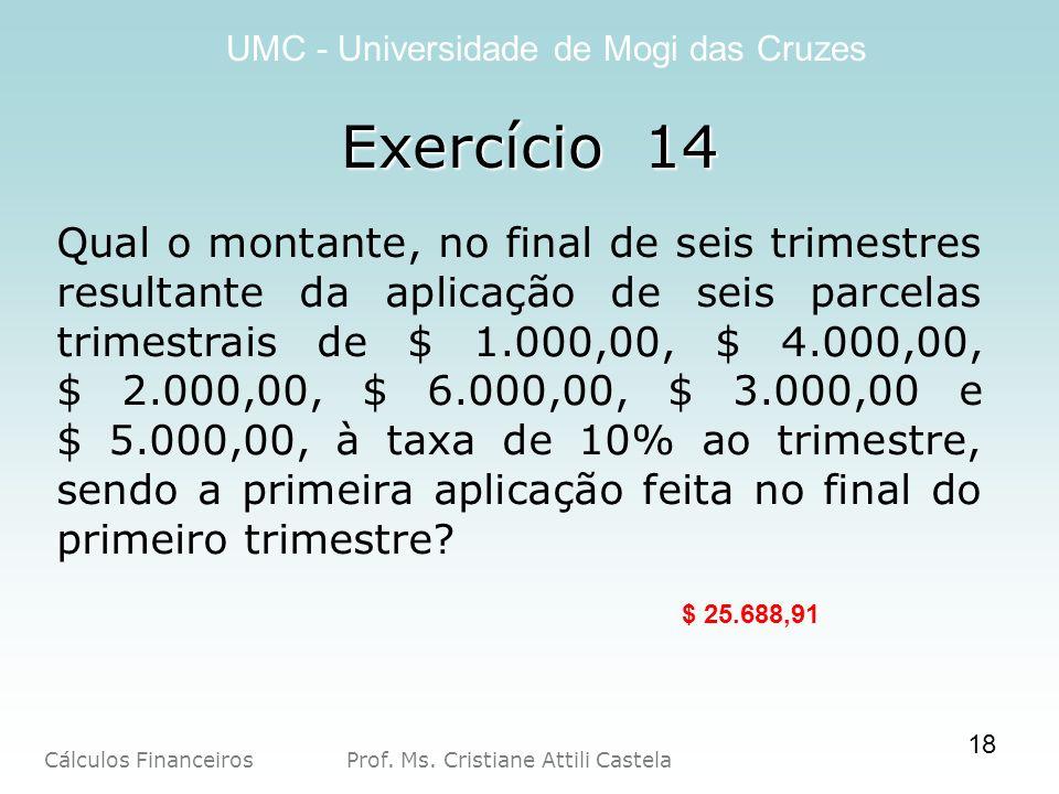 Exercício 14