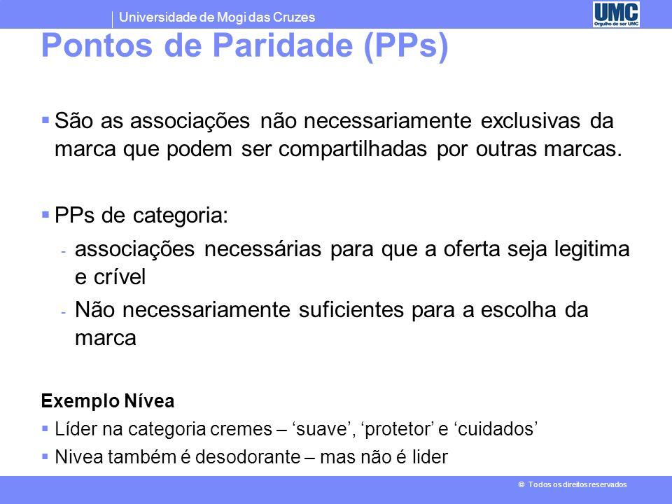 Pontos de Paridade (PPs)
