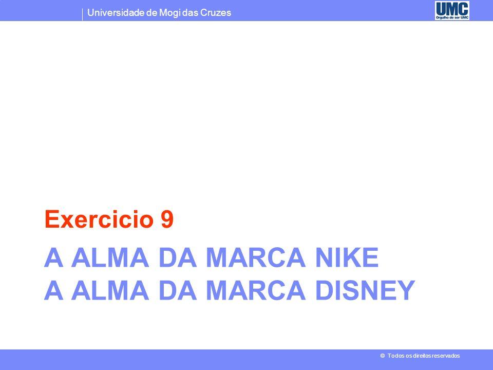 A alma da marca Nike A alma da marca Disney
