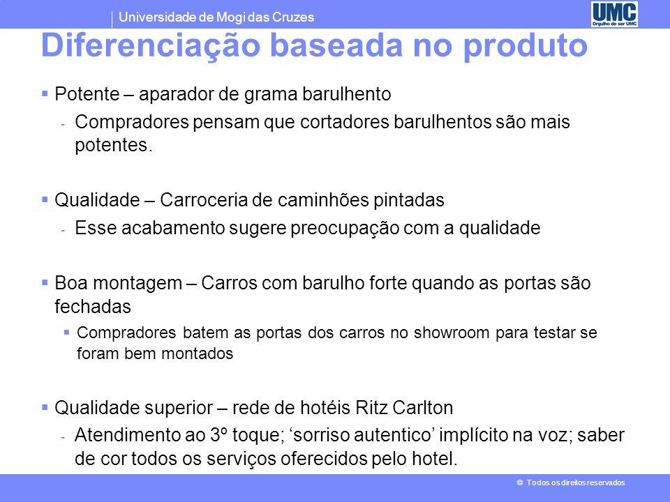 Diferenciação baseada no produto