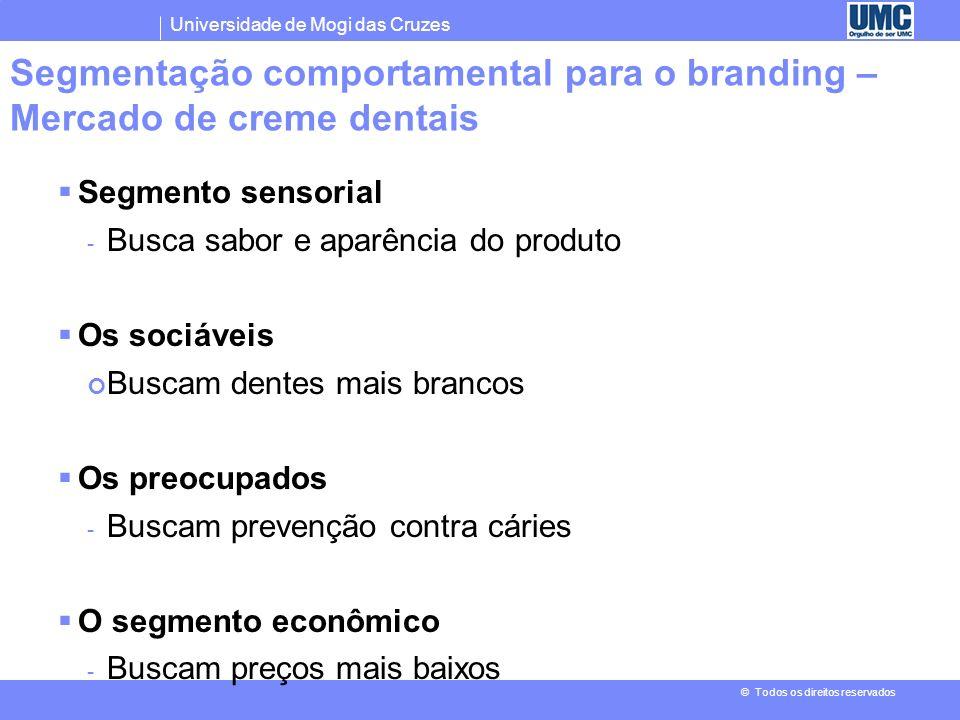 Segmentação comportamental para o branding – Mercado de creme dentais