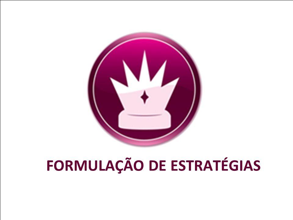 FORMULAÇÃO DE ESTRATÉGIAS