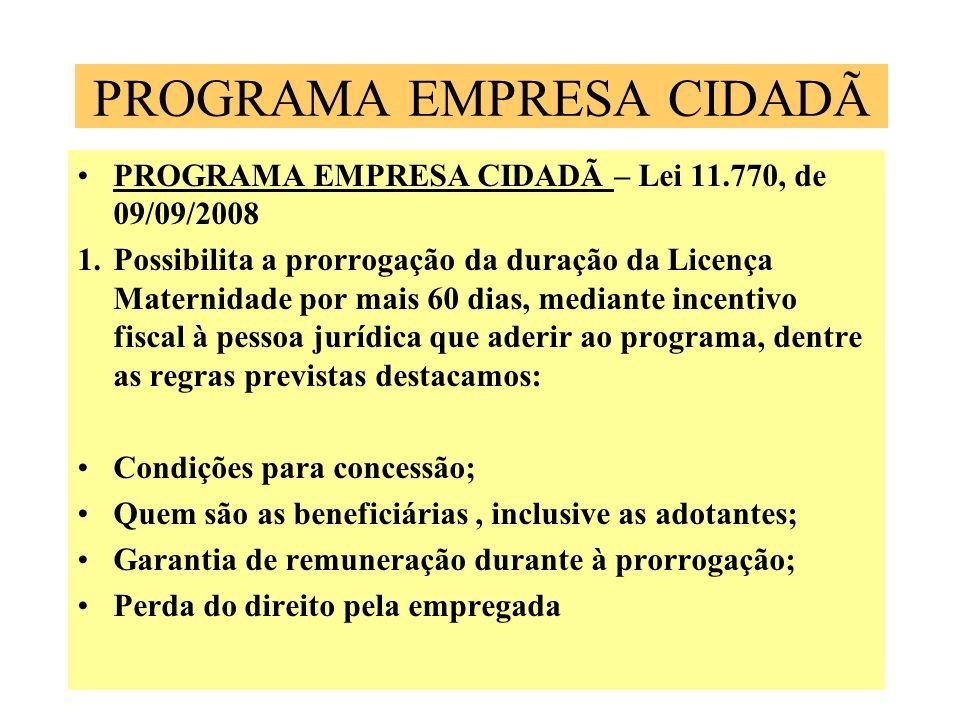 PROGRAMA EMPRESA CIDADÃ