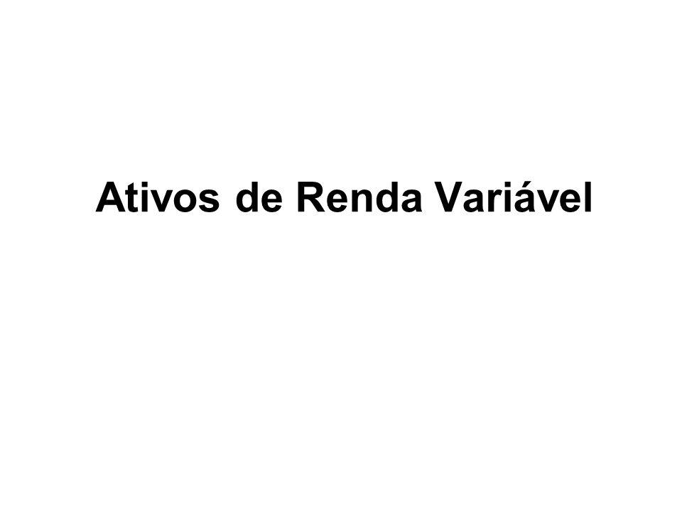 Ativos de Renda Variável