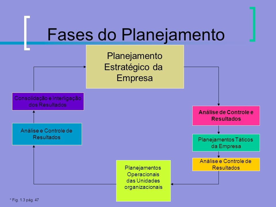 Fases do Planejamento Planejamento Estratégico da Empresa