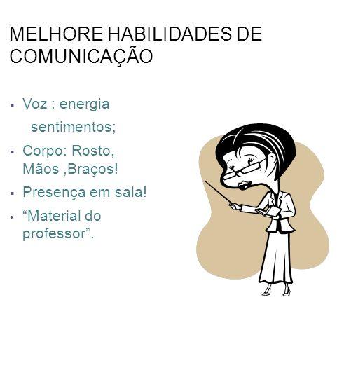 MELHORE HABILIDADES DE COMUNICAÇÃO