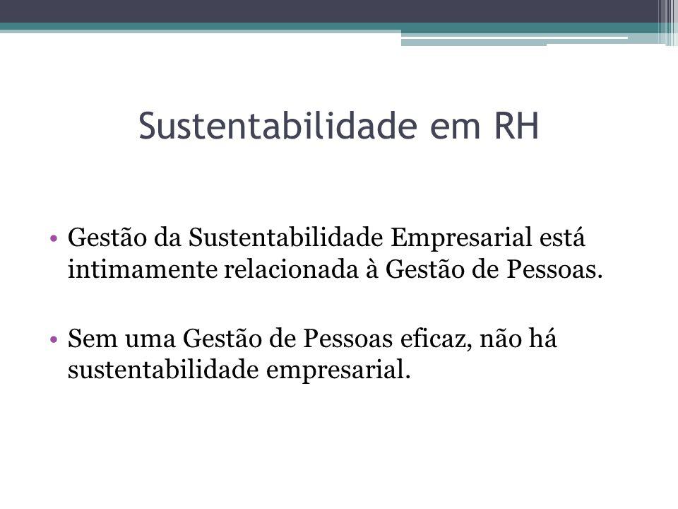 Sustentabilidade em RH