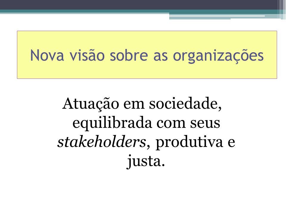 Nova visão sobre as organizações
