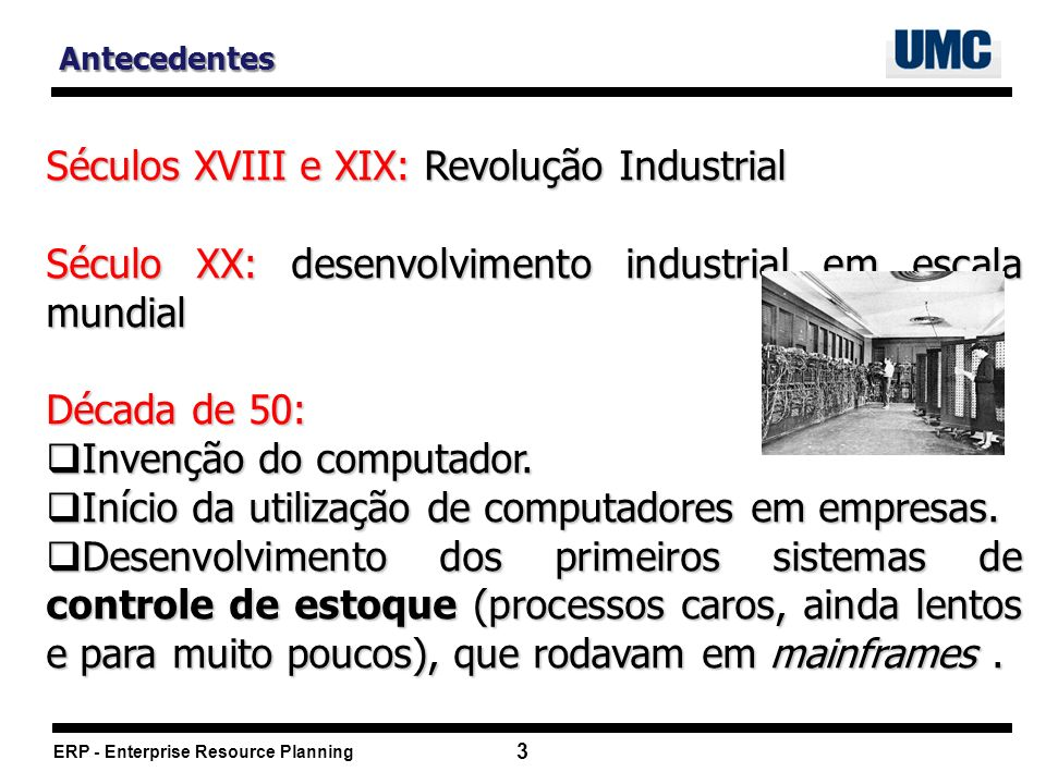 Séculos XVIII e XIX: Revolução Industrial