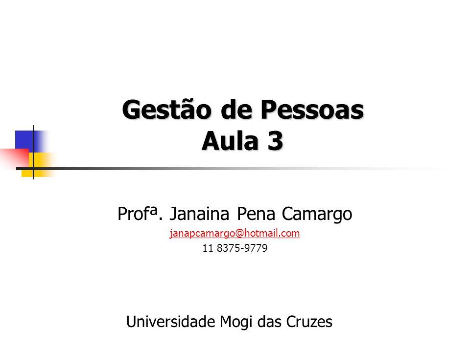 Profª. Janaina Pena Camargo janapcamargo@hotmail.com 11 8375-9779