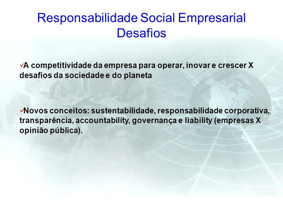 Responsabilidade Social Empresarial Desafios