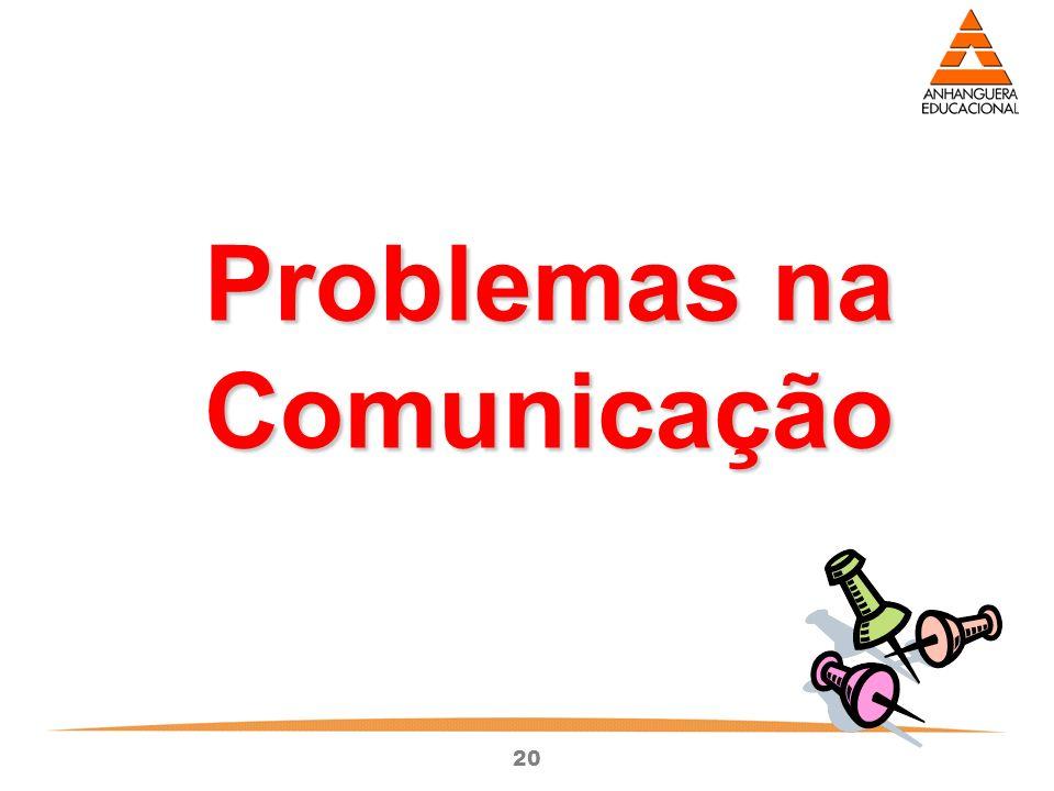 Problemas na Comunicação