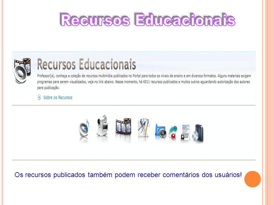 Recursos Educacionais