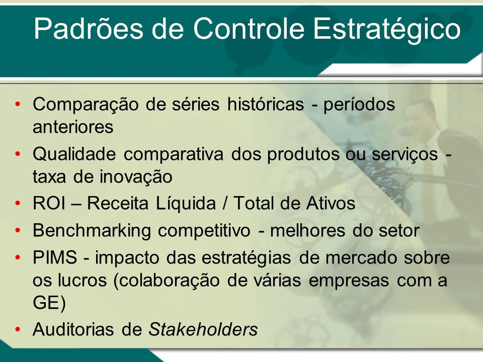 Padrões de Controle Estratégico