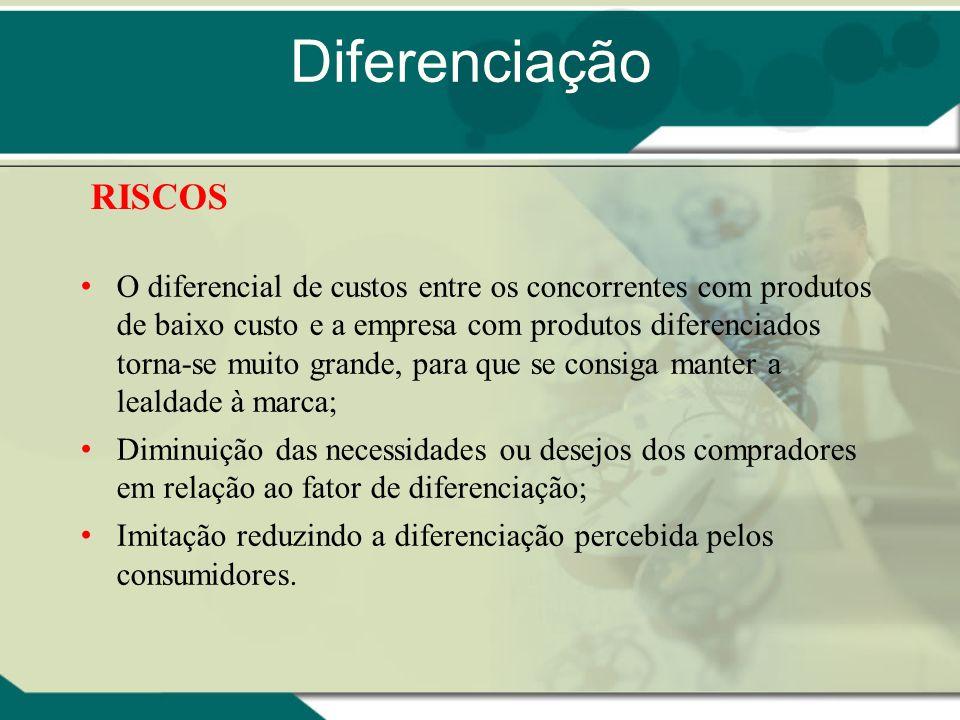 Diferenciação RISCOS.