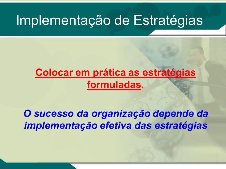 Implementação de Estratégias