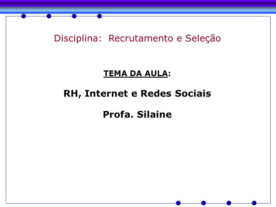 RH, Internet e Redes Sociais