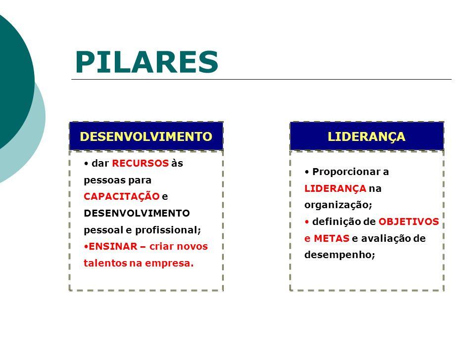 PILARES DESENVOLVIMENTO LIDERANÇA