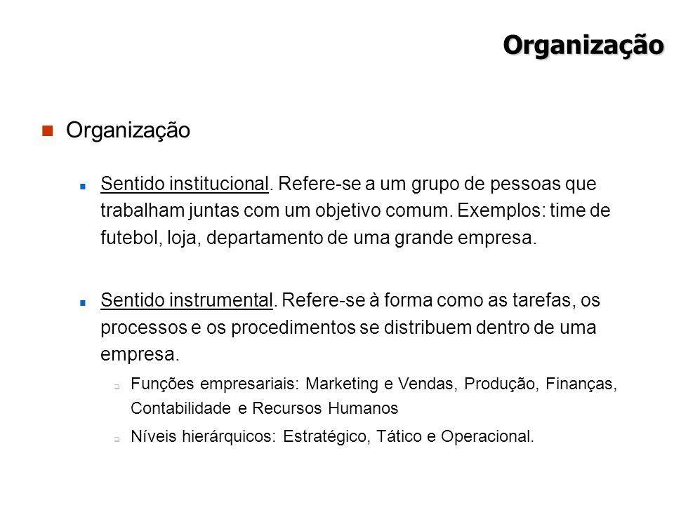 Organização Organização