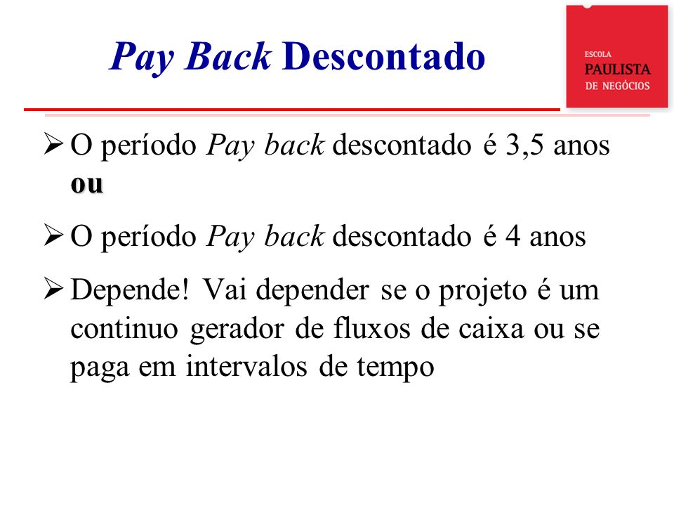 ExoPay Back Descontado