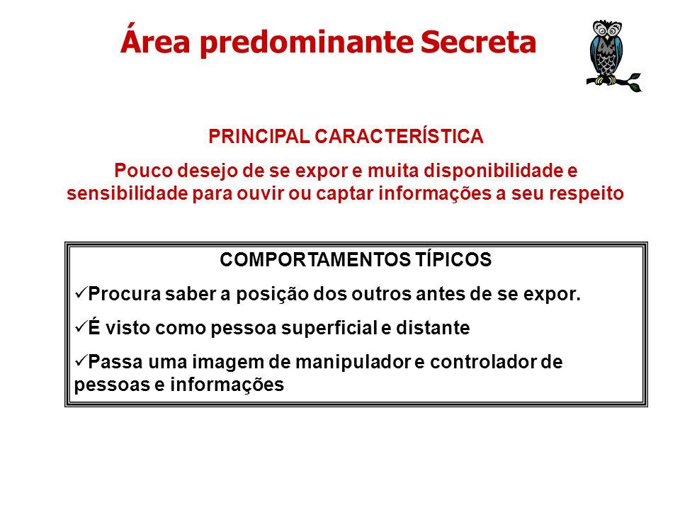 Área predominante Secreta
