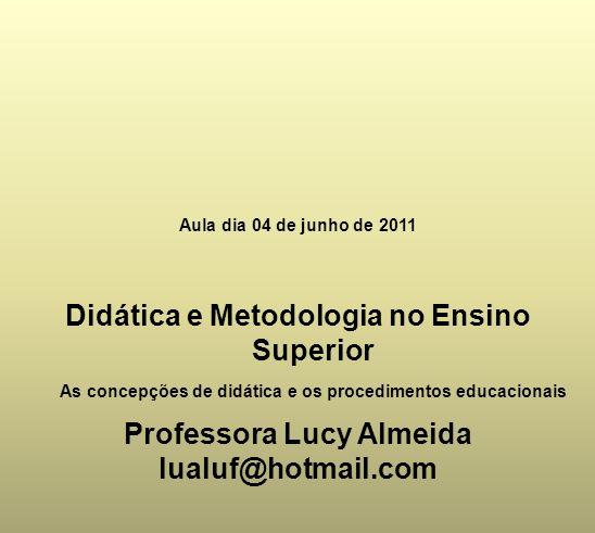 Didática e Metodologia no Ensino Superior