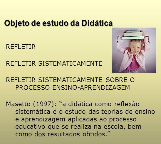 Objeto de estudo da Didática