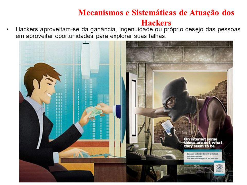 Mecanismos e Sistemáticas de Atuação dos Hackers