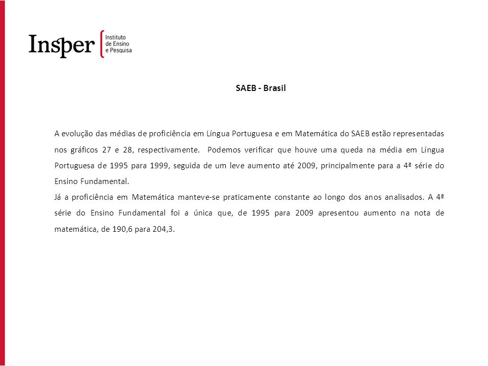 SAEB - Brasil