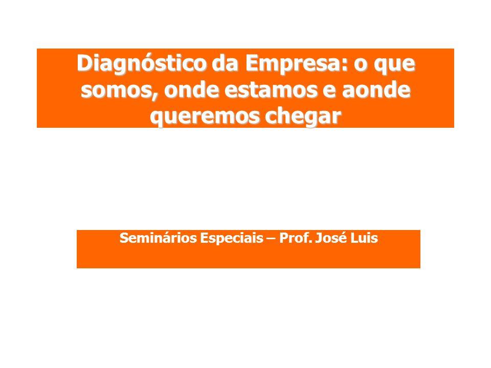 Seminários Especiais – Prof. José Luis