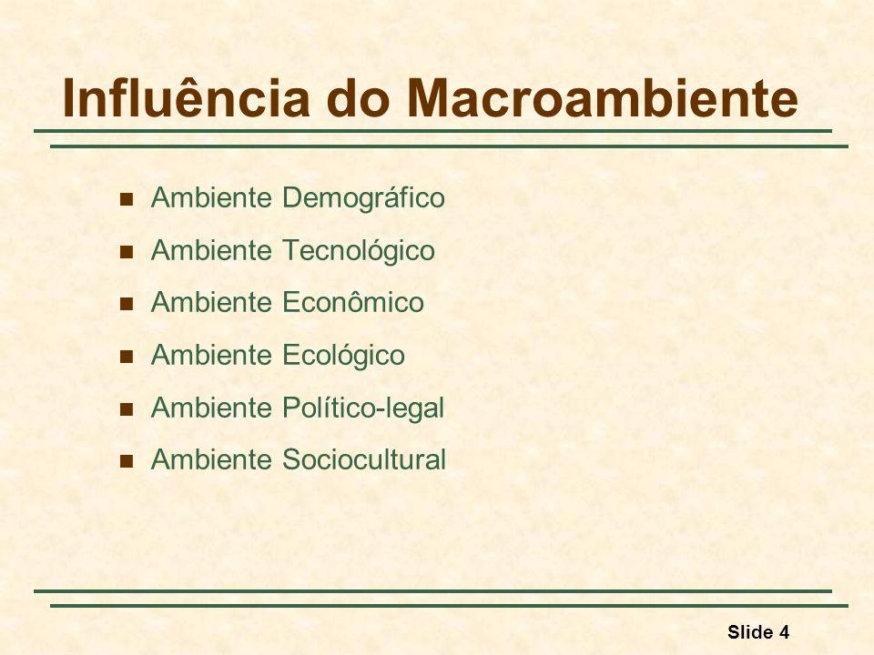 Influência do Macroambiente