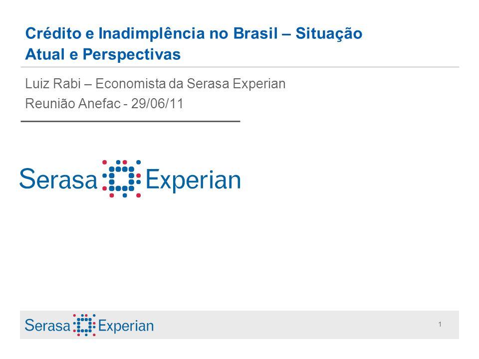 Crédito e Inadimplência no Brasil – Situação Atual e Perspectivas