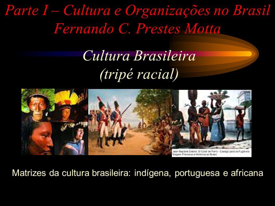 Parte I – Cultura e Organizações no Brasil Fernando C. Prestes Motta