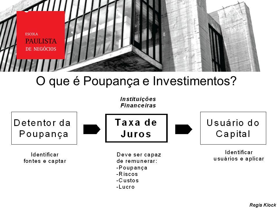O que é Poupança e Investimentos