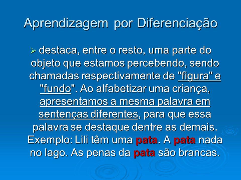 Aprendizagem por Diferenciação
