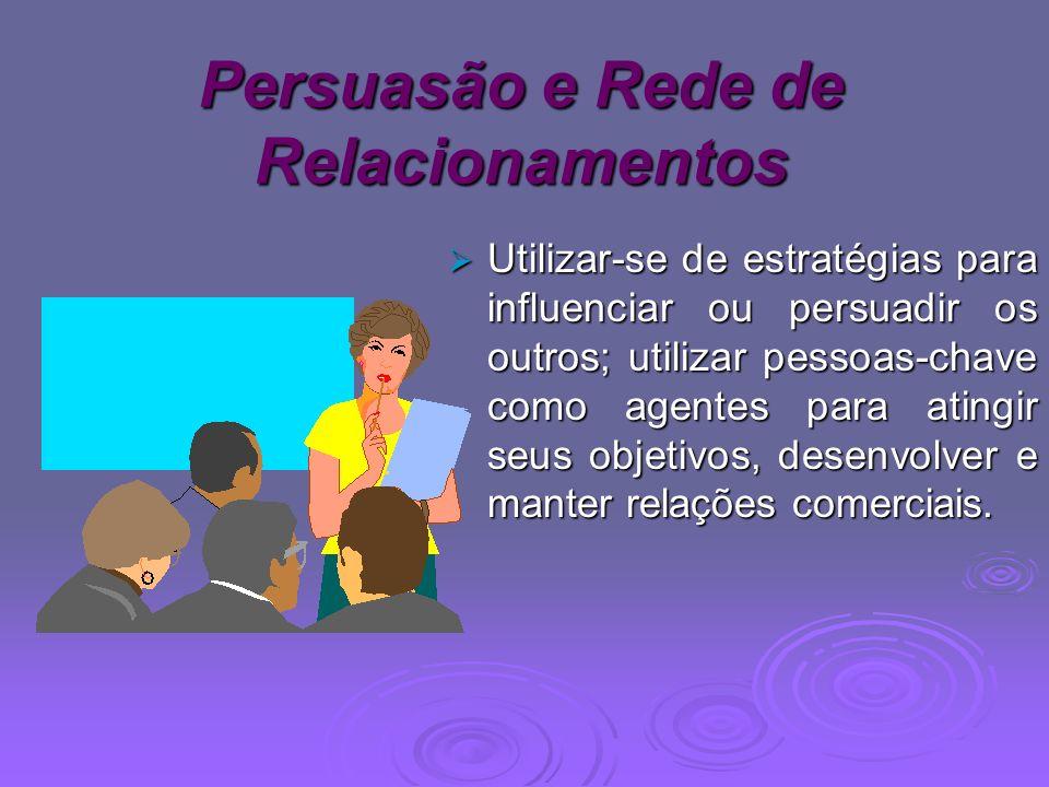 Persuasão e Rede de Relacionamentos