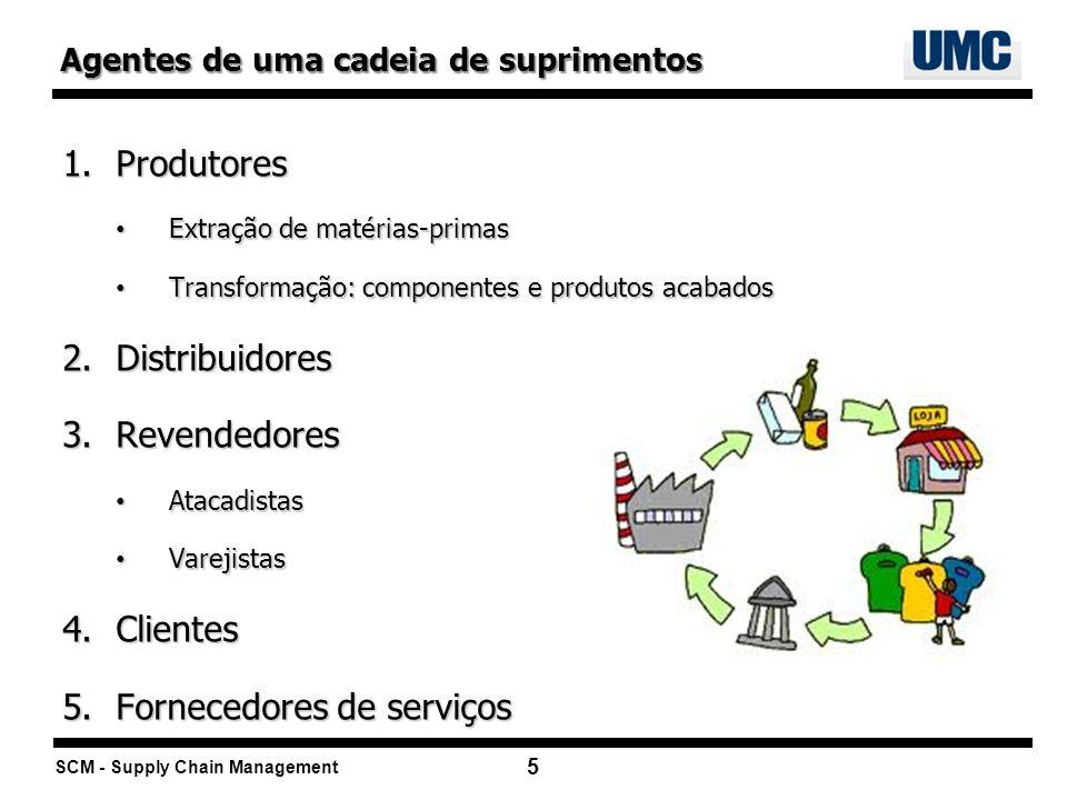 Fornecedores de serviços