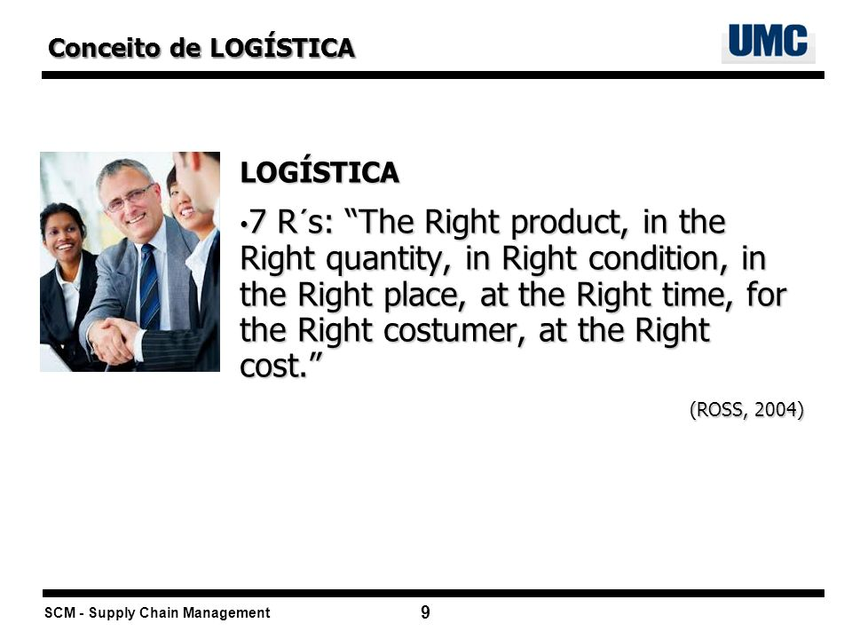 Conceito de LOGÍSTICALOGÍSTICA.