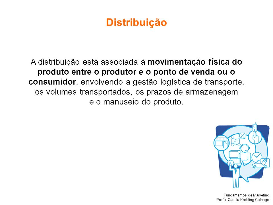 produto entre o produtor e o ponto de venda ou o