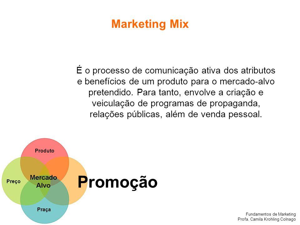 Promoção Marketing Mix