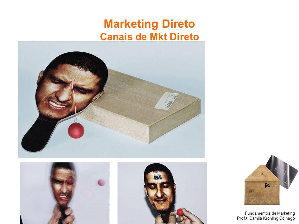 Marketing Direto Canais de Mkt Direto