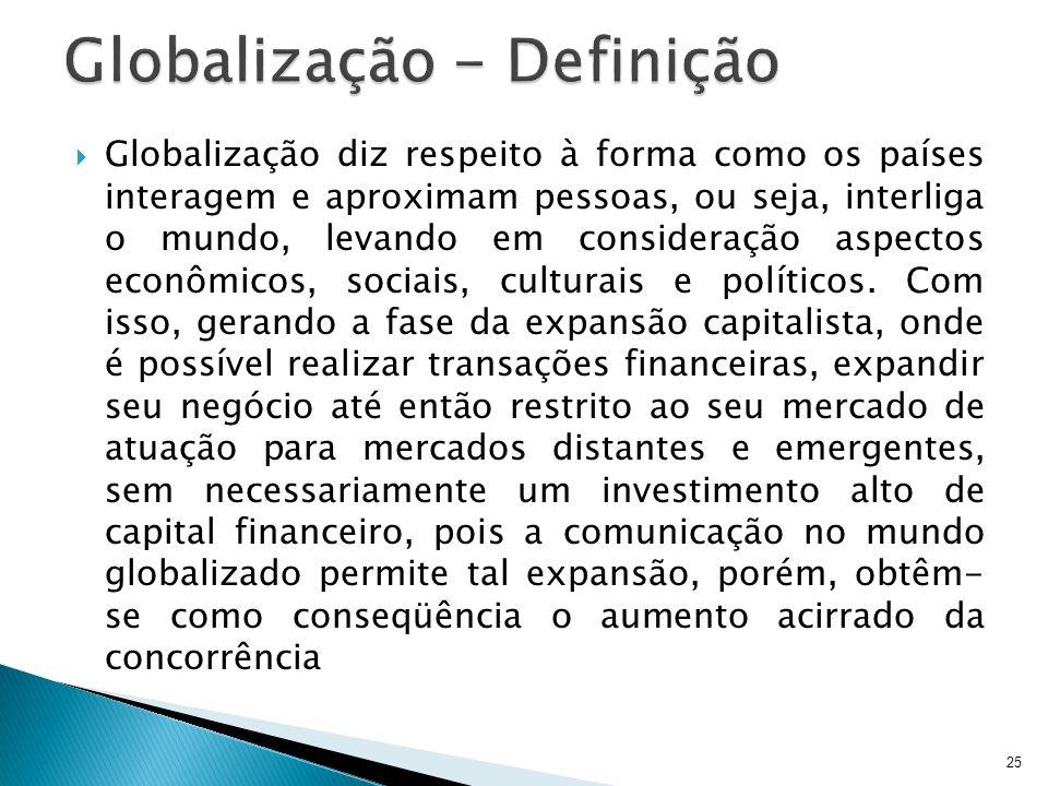 Globalização - Definição