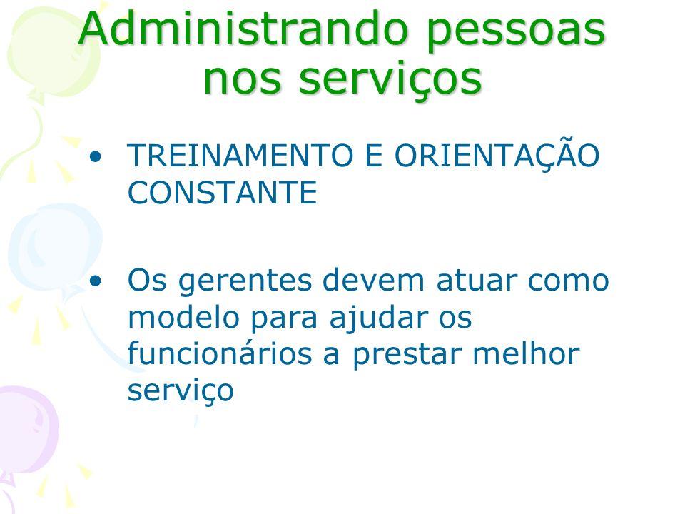 Administrando pessoas nos serviços